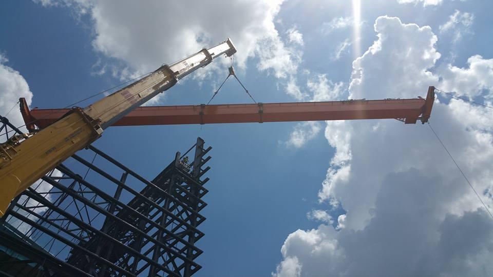Zambia Overhead crane pc1